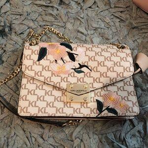 Karl Lagerfield Paris shoulder bag